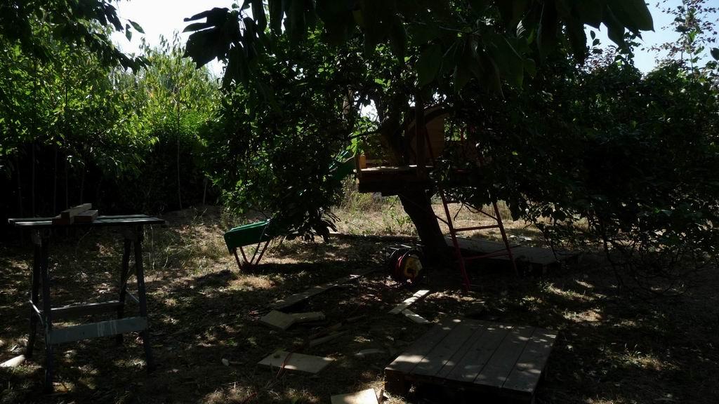 Construire une maison dans les arbres fabulous cabanes dans les arbres with construire une - Cabane de jardin sans dalle aixen provence ...