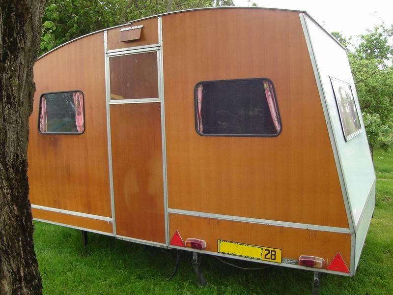Bien-aimé Rapido confort, la caravane pliante en bois | Dans une contrée du  WB28
