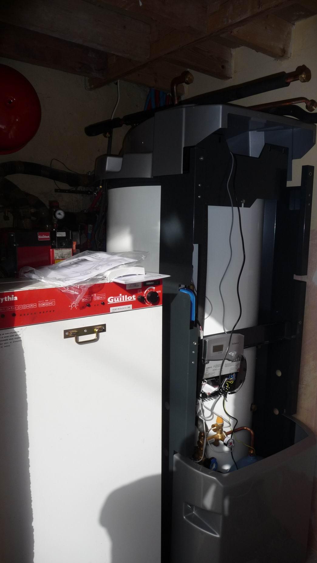 Installation d'un Chauffage Solaire Thermique ECS avec appoint Fioul