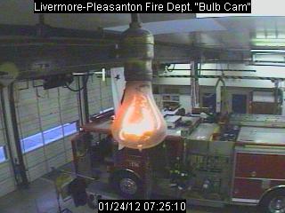 Ampoule De Livermore webcam de la plus vieille ampoule en fonctionnement au monde, à