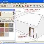 Besoin d'un logiciel pour votre permis de construire, utilisez google Sketchup