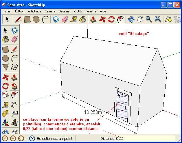 besoin d 39 un logiciel pour votre permis de construire utilisez google sketchup dans une. Black Bedroom Furniture Sets. Home Design Ideas