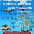 Ce Dimanche 2 Juin 2013, venez aux portes ouvertes de la Base Aérienne 279 de Chateaudun, Même si on est pas forcément sensible à une manifestation militaire, on ne saurait...