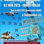 Meeting aérien avec la patrouille de France à Chateaudun